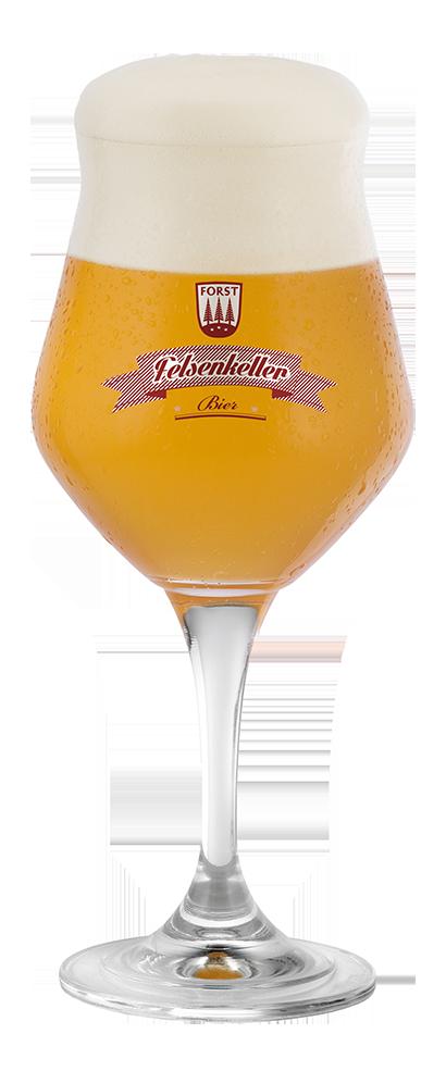 FORST Felsenkeller Bier Glas[1007]